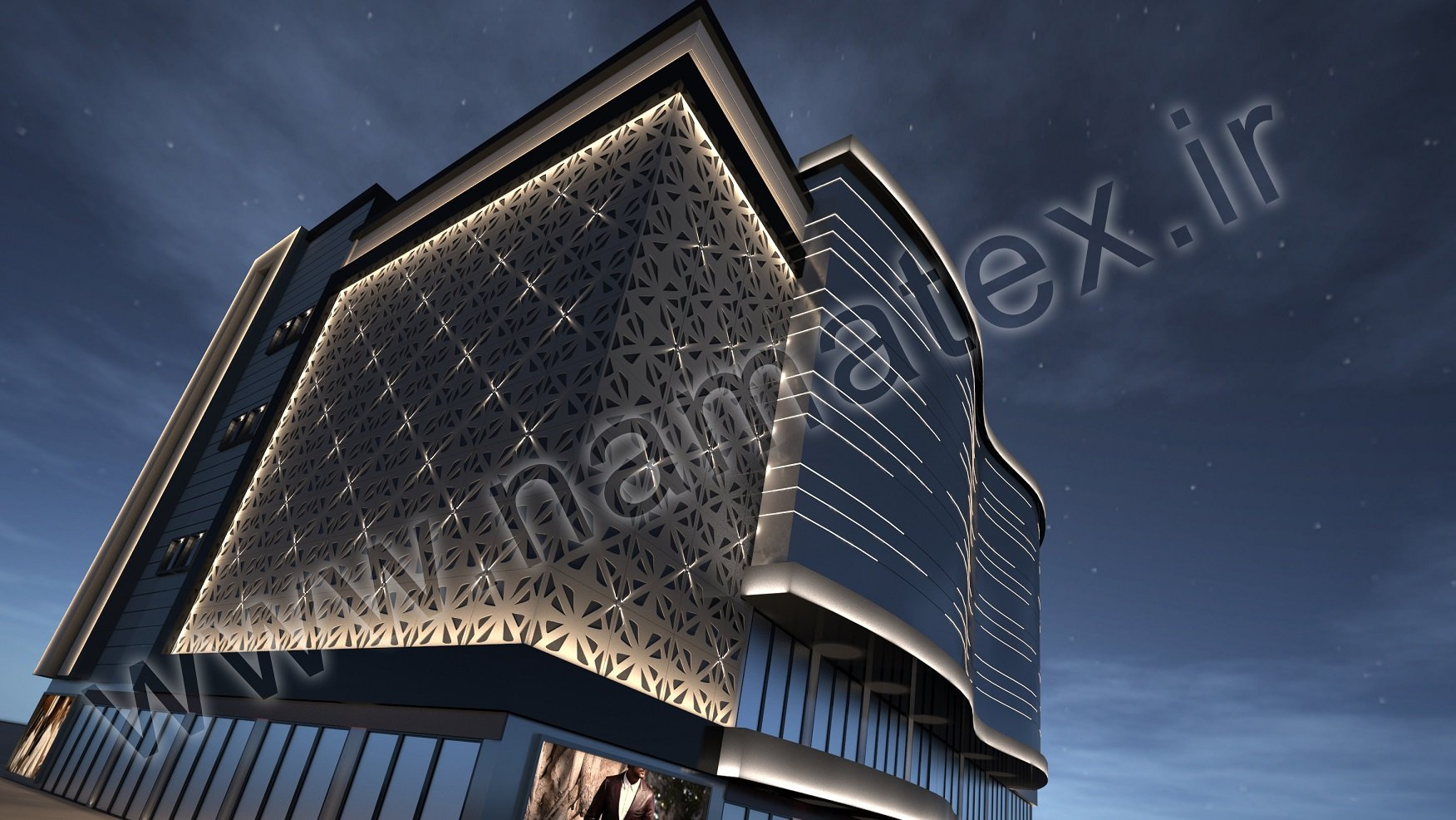 Lighting of Building Exterior
